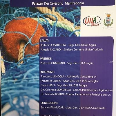 Oltre 100 persone al convegno Uilapesca sul Feamp a Manfredonia