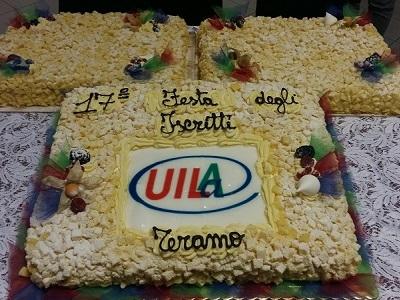 Teramo, 17° festa degli iscritti Uila