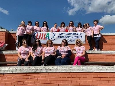 PARI OPPORTUNITÀ. Le donne della Uila Foggia in corsa per la solidarietà