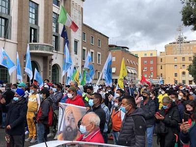 CAPORALATO  A Latina nuova manifestazione contro sfruttamento