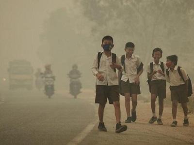 La nube tossica del 2015 in Asia ha causato 100.000 morti